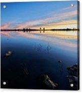 Ashurst Lake Sunrise Acrylic Print