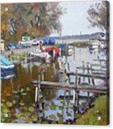 Ashville Bay Marina Acrylic Print