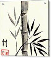 Asian Bamboo Acrylic Print