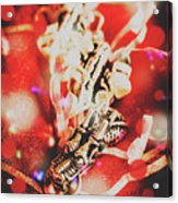 Asian Dragon Festival Acrylic Print