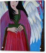 Asian Earthangel Tuyen Acrylic Print
