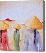 Asian Elegance Acrylic Print