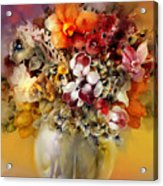 Asian Flowers Acrylic Print