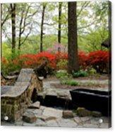 Asian Garden Acrylic Print