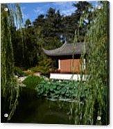Asian House. Acrylic Print