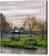 Asian Landscape Acrylic Print