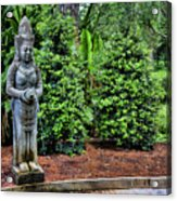 Asian Statue Jefferson Island  Acrylic Print