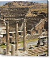 Asklepion Theatre And Columns Acrylic Print
