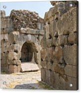 Asklepios Temple Ruins Acrylic Print