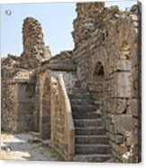 Asklepios Temple Ruins View 2 Acrylic Print