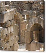 Asklepios Temple Ruins View 3 Acrylic Print
