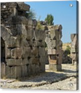 Asklepios Temple Ruins View 5 Acrylic Print