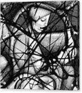 Asleep At The Wheel Acrylic Print