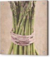 Asparagus Spears Acrylic Print