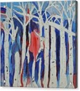 Aspen Roots Acrylic Print