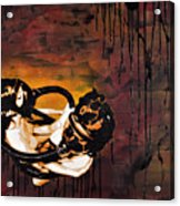 Asphyxiation By Oil Dependency Acrylic Print