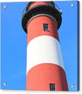 Assateague Lighthouse Abstract Acrylic Print