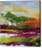Assateague Sunset Acrylic Print