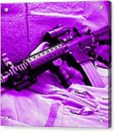 Assault Rifle Acrylic Print