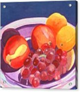 Assorted Fruit Acrylic Print