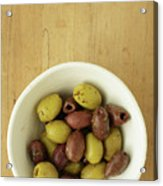 Assorted Greek Olives  Acrylic Print