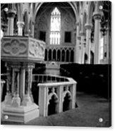 Assumption Baptism Acrylic Print