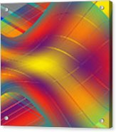 Assymetric Flow Acrylic Print