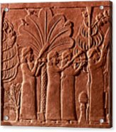 Assyrian Queen, 645 B.c Acrylic Print