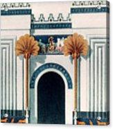 Assyrian Temple Acrylic Print