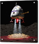 Asteroid Miners Mule Acrylic Print