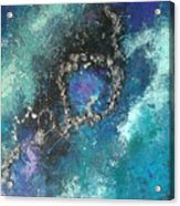 Asteroid Ring Acrylic Print