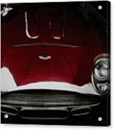 Aston Martin Db-4 Sans Paint Acrylic Print