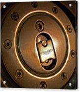 Aston Martin Fuel Filler Cap Acrylic Print