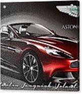 Aston Martin Vanquish Volante  Acrylic Print