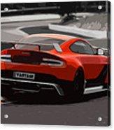Aston Martin Vantage Gt12 - Trackday Acrylic Print