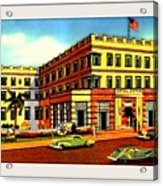 Astor Hotel, Miami Beach Fl, 1938 Acrylic Print