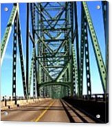 Astoria-megler Bridge Acrylic Print