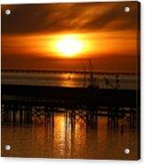 Astoria Oregon Sunset Acrylic Print