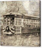 Astoria Trolley Acrylic Print