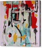 Astract 7206 Acrylic Print