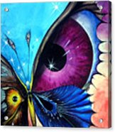 Astral Butterfly. Soul - Memory - Mind Acrylic Print