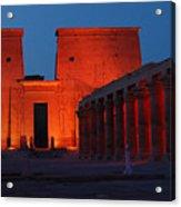 Aswan Temple Of Philea Egypt Acrylic Print