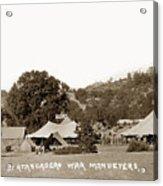 At Atascadero War Manuevers Circa 1915 Acrylic Print