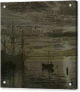 At Dock Acrylic Print