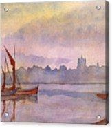 At Harbor Venice Acrylic Print