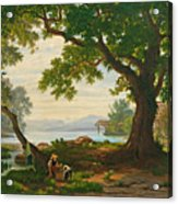 At Lake Sempach Acrylic Print