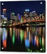 At Rivers Edge In Pittsburgh Acrylic Print