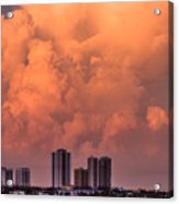 At Sunset In West Palm Beach Acrylic Print