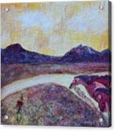 At Sunset, We Ride Acrylic Print
