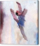 At The Ballet Acrylic Print